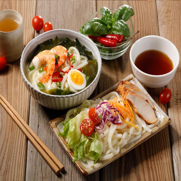 日本熟凍烏龍麵1包(200gx 5片/包)