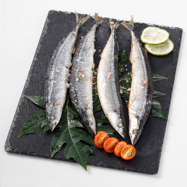 野生特大秋刀魚(100gx4尾/包)