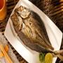 生薄鹽竹筴魚一夜干(200g/尾)