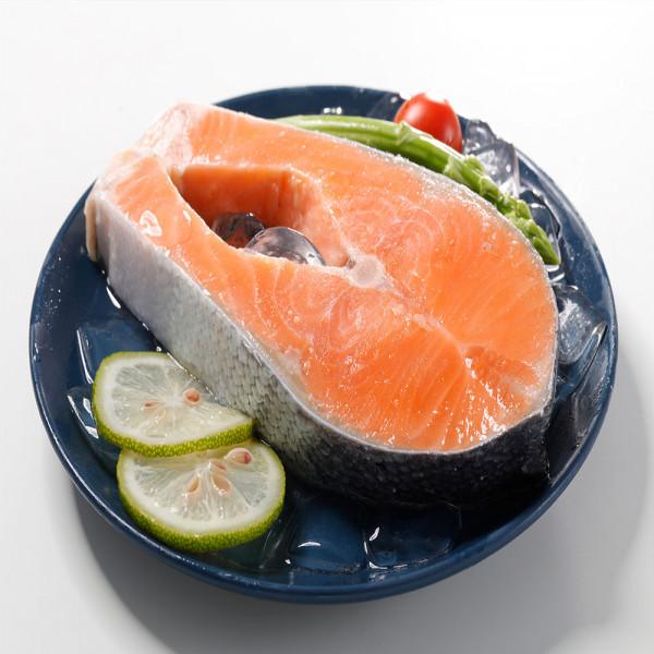 特大鮭魚片(350g/片)