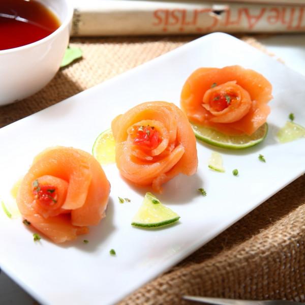 煙燻鮭片(100g/包)