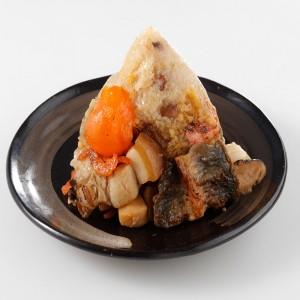 東港蒲燒鰻魚干貝粽5粒組(180G/粒)