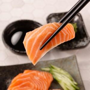 挪威鮭魚生魚片(600g/整條/未切/生食級)