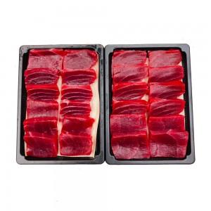 東港黑鮪魚赤身切片生魚片1盒(200g/切片/盒)