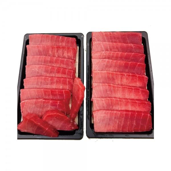 東港黑鮪魚皮油切片生魚片1盒(200g/切片/盒)