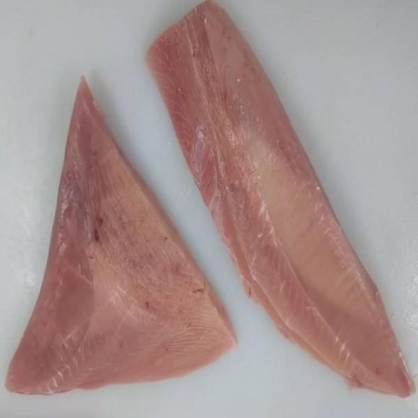 紅皮刀(月亮魚)清肉原物料