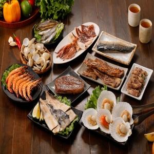 中秋海陸烤肉10件組(5-6人份)