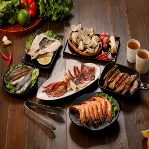 海陸小家庭烤肉6件組(2-3人份)